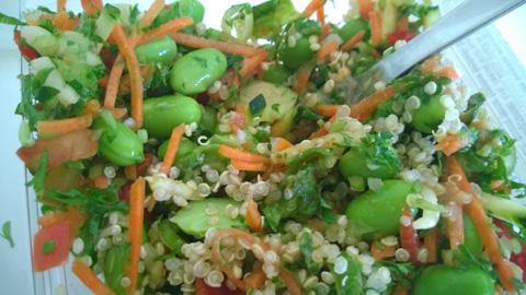 edamame-salat